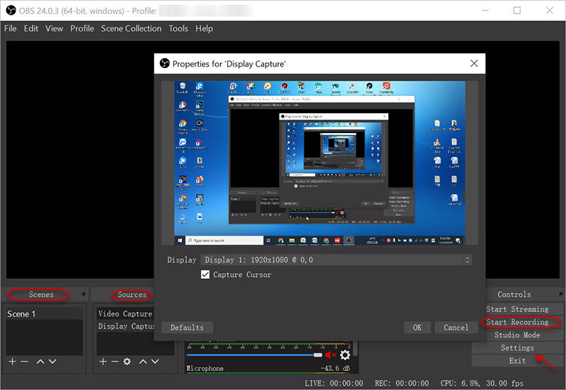 Best Screen Recording Software for Windows 10 - OBS